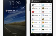 SlideLock allows to set the iOS 7 lock screen and notification on Android