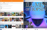 Screenshots official client Google Play Music for iPad leaked