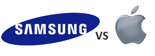 Samsung-vs-Apple-logo