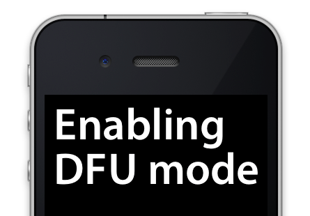 iPhone-DFU-mode