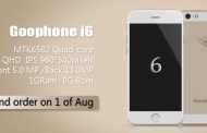 GooPhone announced the iPhone 6 clone  with a 13-megapixel camera and a 4-core processor