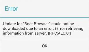 error play store rpc_aec_0