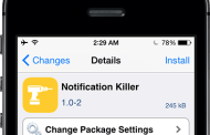 Notification Killer app allows to clear all notifications at once