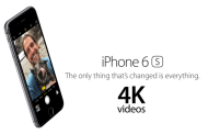 Enable 4K video recording on the  iPhone 6s