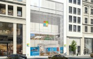 Microsoft Store Opens On Fifth Avenue New York, Near Apple Store