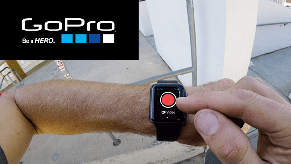 GoPro App Released For Apple Watch With New Features
