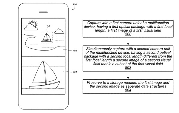 Apple-dual-camera-iphone-7-patent
