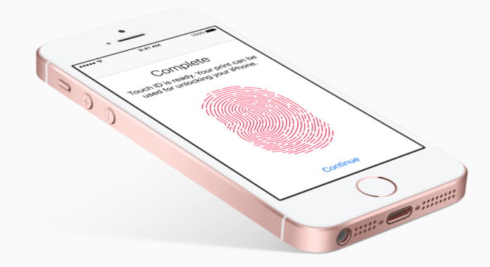 iphonese-touchid