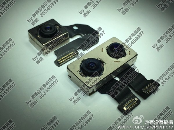 New iPhone 7 Plus images of dual camera module