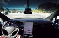 Watch A Tesla With Autopilot 2.0 Self-Driving Hardware Demo