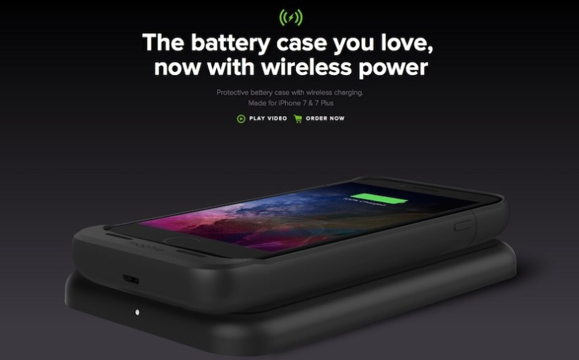 Mophie launches new Juice Pack Air for  iPhone 7, 7 Plus Wireless Charging Battery Cases