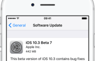 Apple Releases iOS 10.3 Beta 7 And macOS 10.12.4 Beta 7