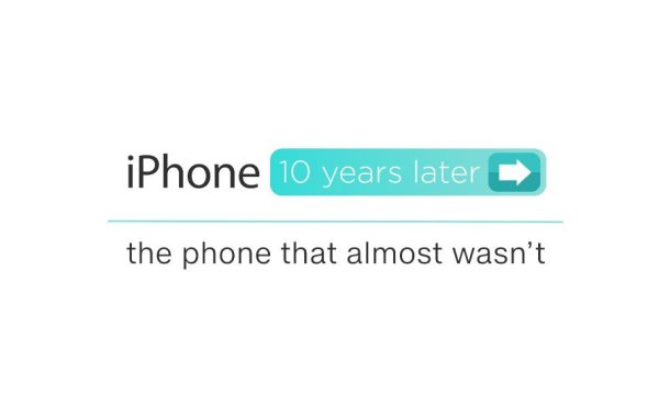 10 Years ago Today, Apple Launched The iPhone And It Changed Everything