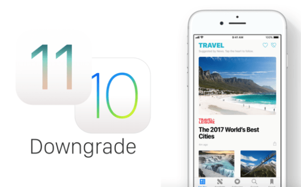 How To Downgrade From iOS 11 To iOS 10.3.3