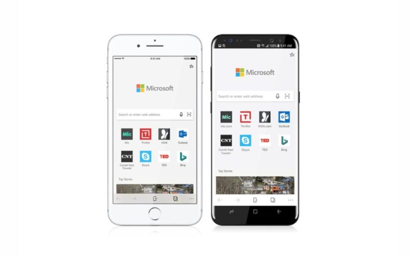 Microsoft Releases Edge Browser For iOS Without Optimizing iPhone X