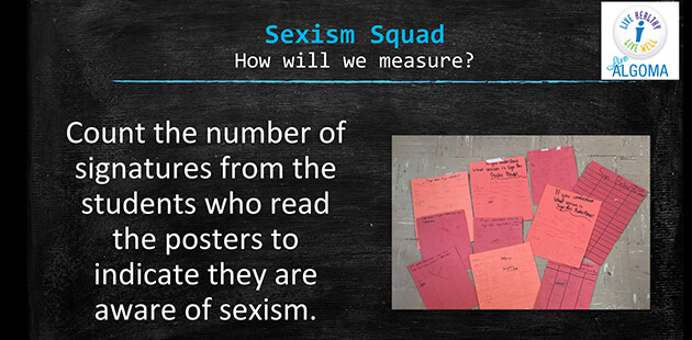 Algoma High School MOOC sexism