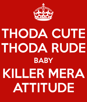 Whatsapp DP Attitude
