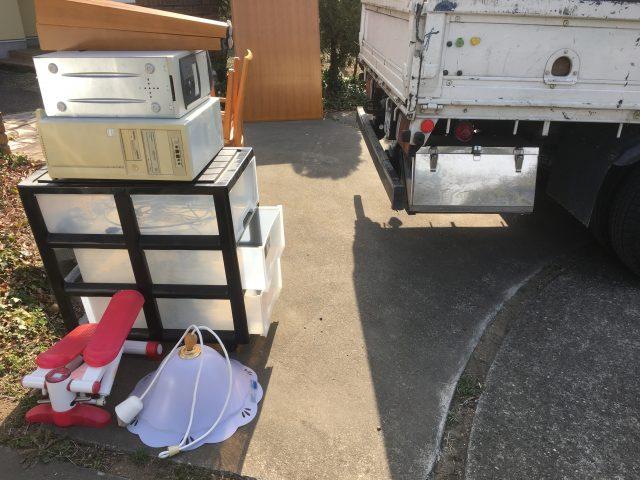 群馬県前橋市での不用品回収