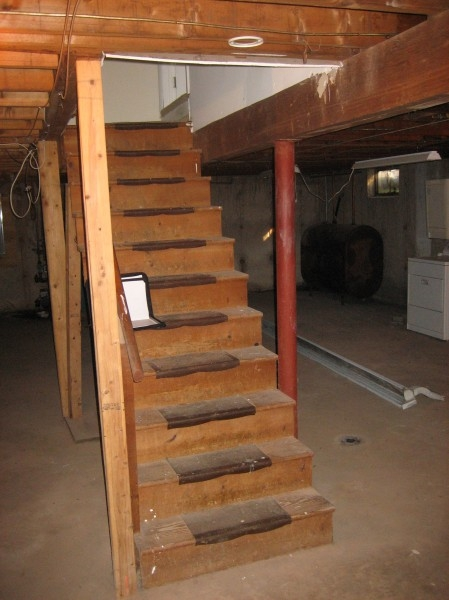 Home Basement Stairs Beautiful On Home In Stair Chezerbey 11 | Cost To Build Stairs To Basement | Spiral Staircase | Deck | Risers | Doors | Stair Treads