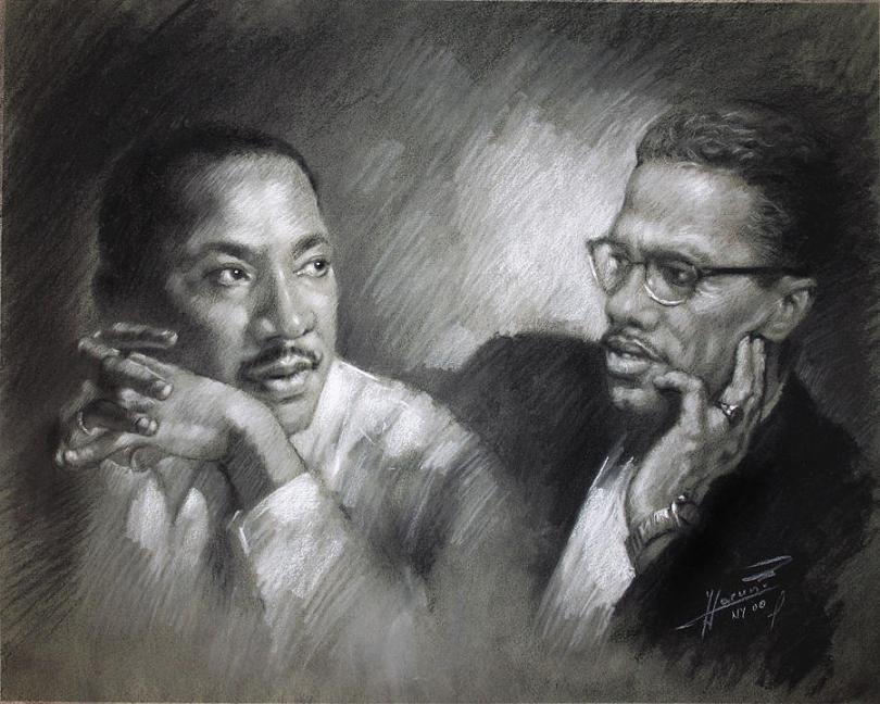 james baldwin martin luther king malcolm x