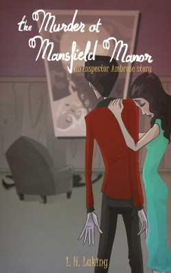 Cover Art for the Murder at Mansfield Manor by Blacksmiley via ArtCorgi