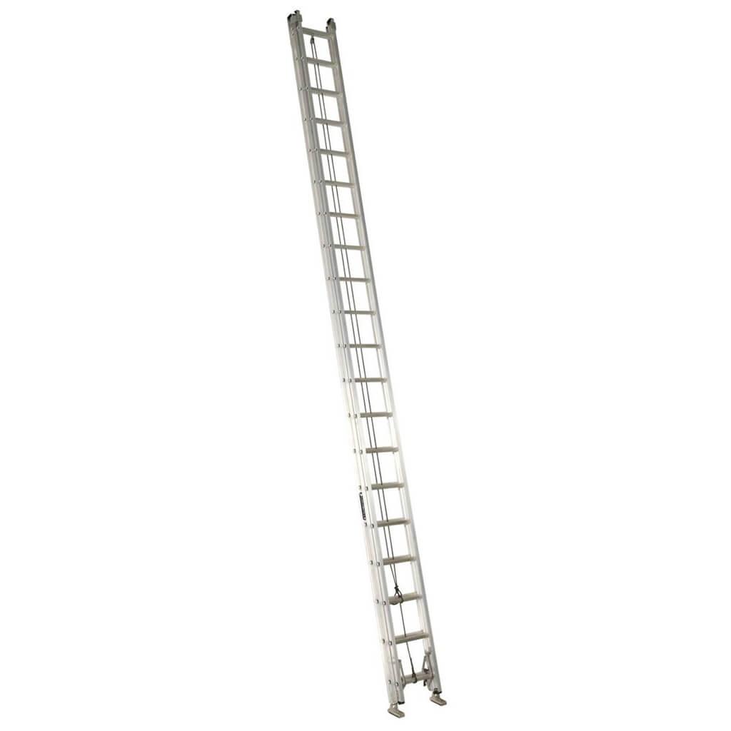 Lite Lp 40 Ft Aluminum Extension Ladder With 225 Lb