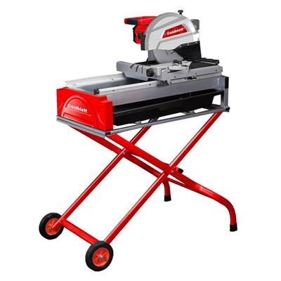 goldblatt g02775 15 amp 10 in wet tile saw with stand