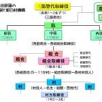小田原藩の藩領支配組織図-取締役制と組合村-