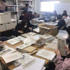 史料管理学演習 4日目 緒形拳さんの資料を整理する!