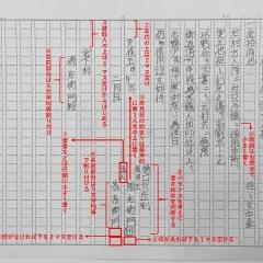 古文書を筆写する その2 原稿用紙の書き方