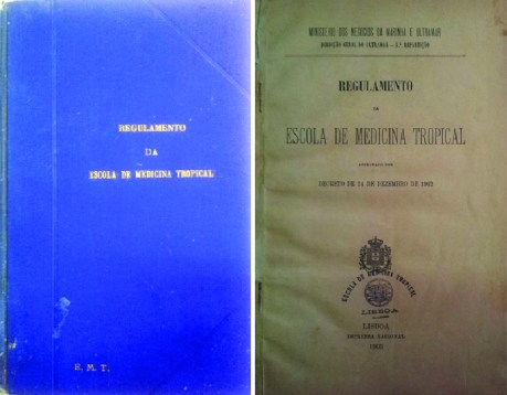Regulamento da Escola de Medicina Tropical