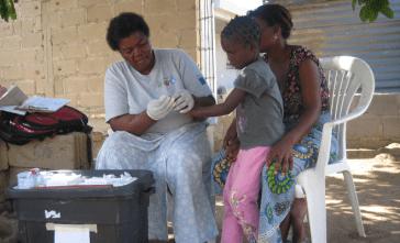 Fotografia que ilustra atividades de apoio ao desenvolvimento
