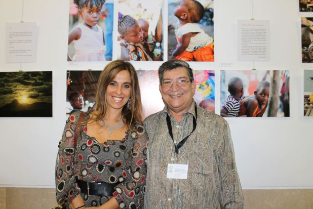 Clara Ramalhão e João Schwalbach, dois dos autores das fotografias expostas