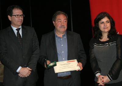 Carlos Novo ao centro