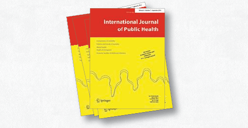 Imagem da capa do International Journal of Public Health