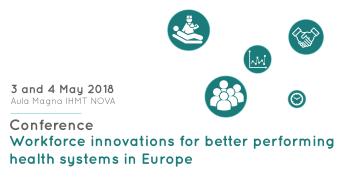 IHMT organiza conferência sobre inovação na força de trabalho em saúde