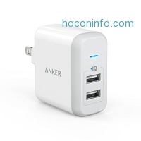 ihocon: Anker 2-Port USB Wall Charger充電器