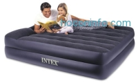 ihocon: Intex Pillow Rest Raised Airbed with Built-in Pillow and Electric Pump