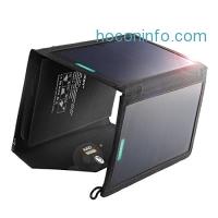 ihocon: AUKEY 20W 2-Port Solar Charger太陽能充電板