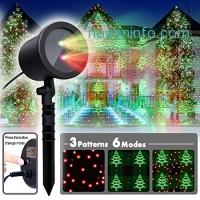 ihocon: Christmas Laser Light with 6 modes聖誕投影燈