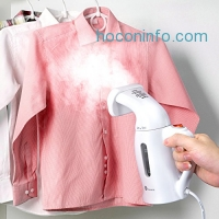 ihocon: TaoTronics Garment Steamer, Handheld Portable Fabric Steamers For Clothes - Powerful Travel Garment Clothes Steamer, 120ml Capacity Perfect for Home and Travel - ETL Certification