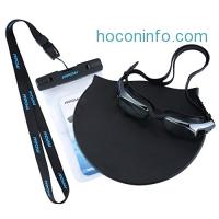 ihocon: Mpow Swimming Kit, 1 Pair of Swim Goggles, 1 Swimming Cap and 1 Waterproof Case for Aquatics