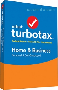 ihocon: TurboTax Home & Business 2017 Fed+Efile+State PC/MAC Disc [Amazon Exclusive]
