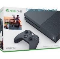 ihocon: Microsoft Xbox One S (500GB) Battlefield 1 Special Edition Bundle, Storm Grey, ZZG-00028 - Walmart.com