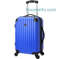 ihocon: Travelers Club Luggage Madison 20 Hardside Expandable Hardside Carry-On NEW