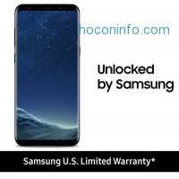 ihocon: Samsung Galaxy S8 Unlocked 64GB - US Version (Midnight Black) - US Warranty