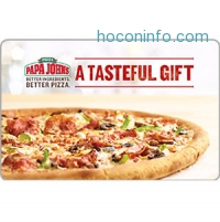ihocon: $25 Papa John's Gift Card 只賣$20 - Fast Email delivery