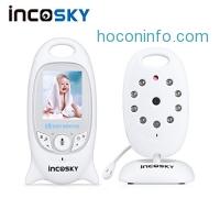 ihocon: incoSKY Wireless Baby Monitor with Night Vision and Temperature Sensor,2 Way Talk 雙向通話夜視, 嬰兒監視器
