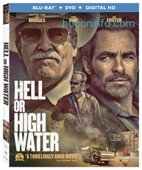 ihocon: Hell or High Water on Blu-ray + DVD + Digital Copy