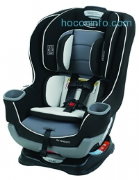 ihocon: Graco Extend2Fit Convertible Car Seat, Gotham 汽車座椅